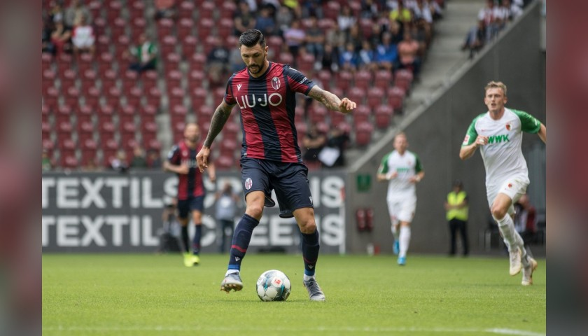 Soriano's Worn Shirt, Augsburg-Bologna, Special Haller