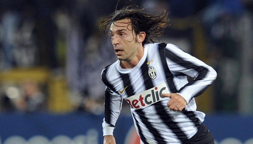 Pirlo's Juventus Match Shirt, TIM Cup 2011/12