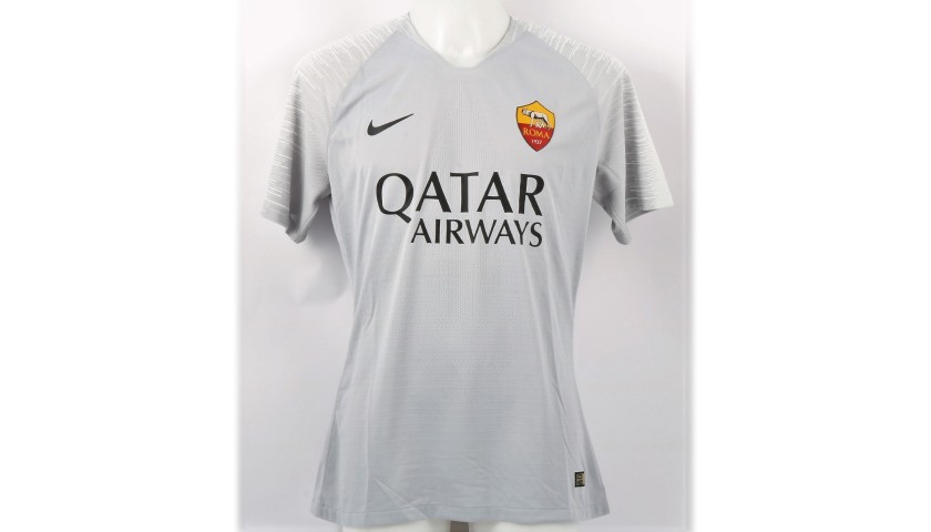 Zaniolo's Roma Signed Match Shirt, 2018/19