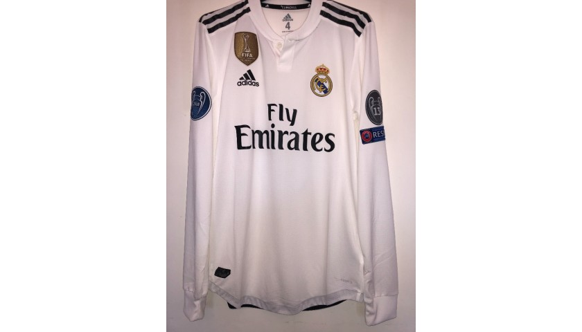 Kroos' Match Shirt, Real Madrid-CSKA 2018