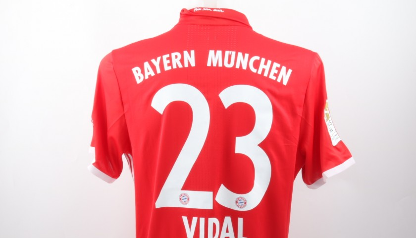 Vidal Match issued/worn Shirt, Audi Cup 2016
