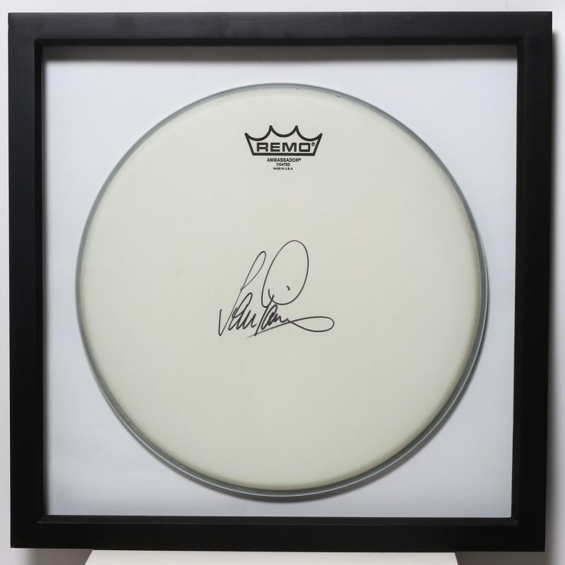 Ian Paice, Deep Purple Signed and Framed Drum Head