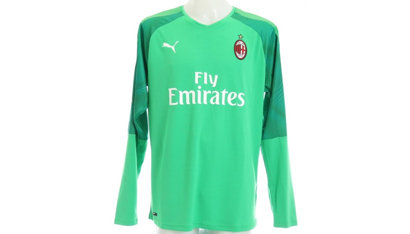 Donnarumma's Official Milan Signed Shirt, 200 Caps