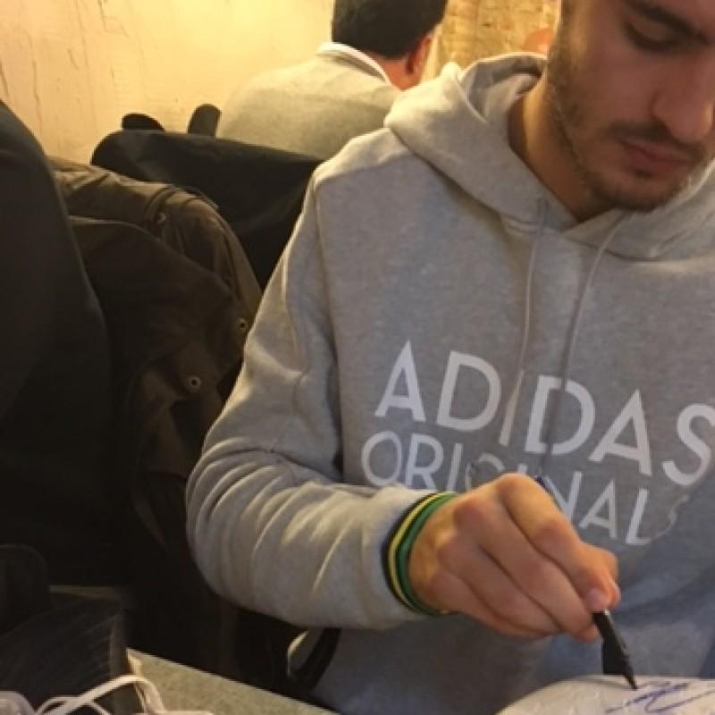 Morata Match Worn Boots, Liga 2016/17 - Signed