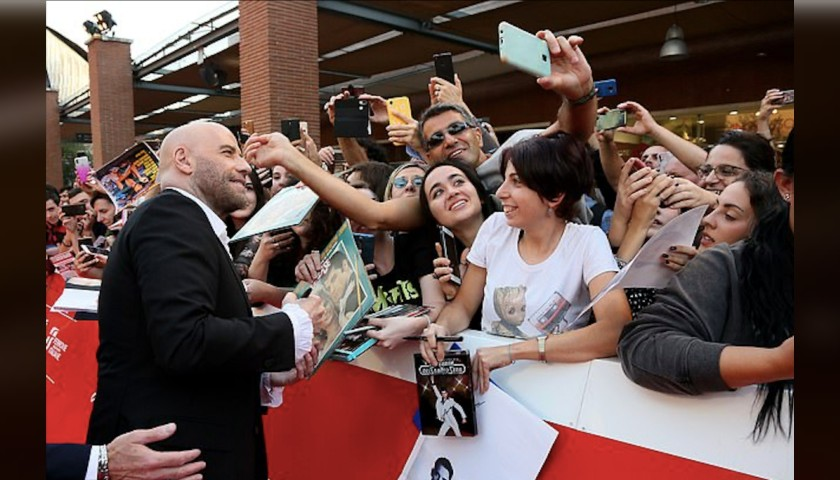 John Travolta Signed Photograph