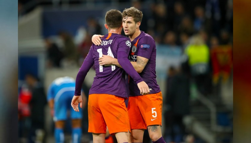 Stones' Manchester City Match Shorts, Champions League 2018/19