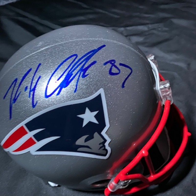 Rob Gronkowski Signed Helmet