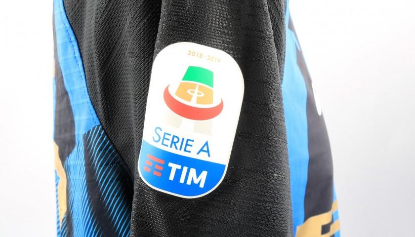 Brozovic's Worn Shirt, Inter-Atalanta - Inter Campus Patch