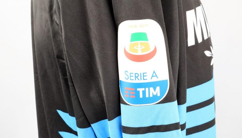Strakosha's Lazio Signed Match Shirt, Serie A 2018/19