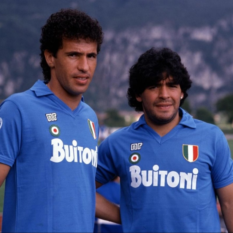 Maradona's Official Signed Napoli Shirt, 1987/88