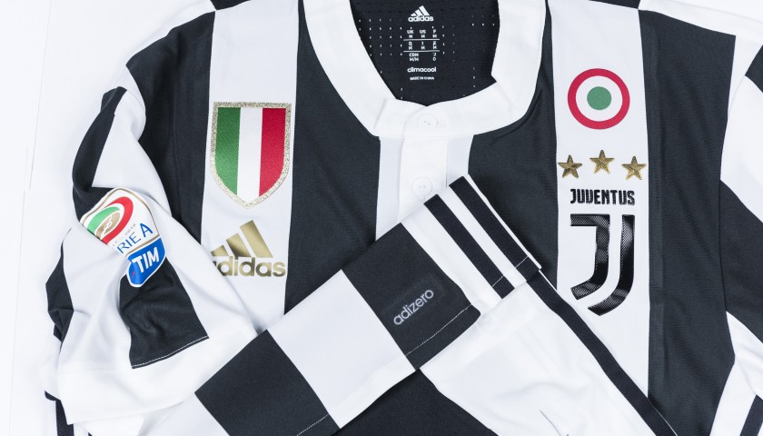 Signed Authentic Douglas Costa Juventus Shirt, 2017/18