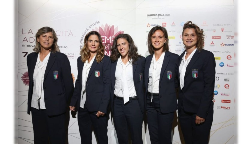 Italy Women's National Football Team Trench by Ermanno Scervino