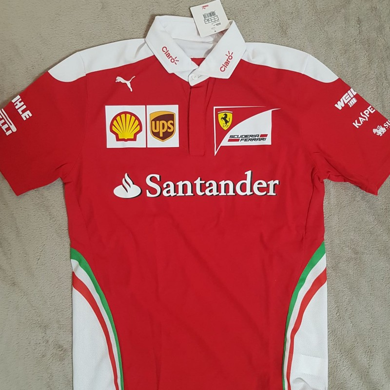 Official Ferrari Team Polo Shirt, 2016 Season