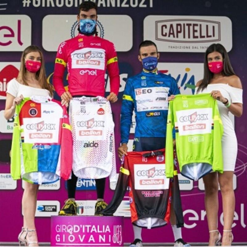 White Giro d'Italia U23 Jersey, 2021