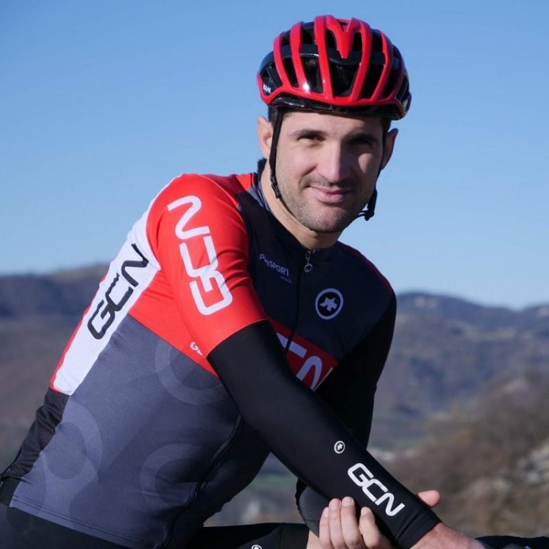 Alan Marangoni's GCN Italia Signed Race Jersey