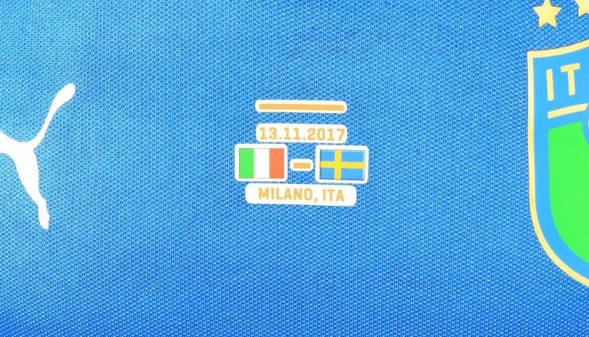 De Rossi's Match Kit, Italy-Sweden 2017