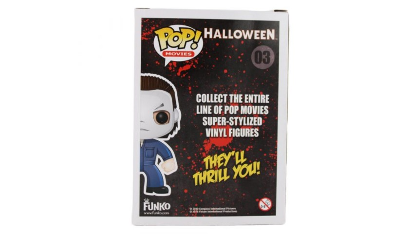 "James Jude Courtney ""Michael Myers"" Signed ""Halloween"" Model #03 Funko Pop"