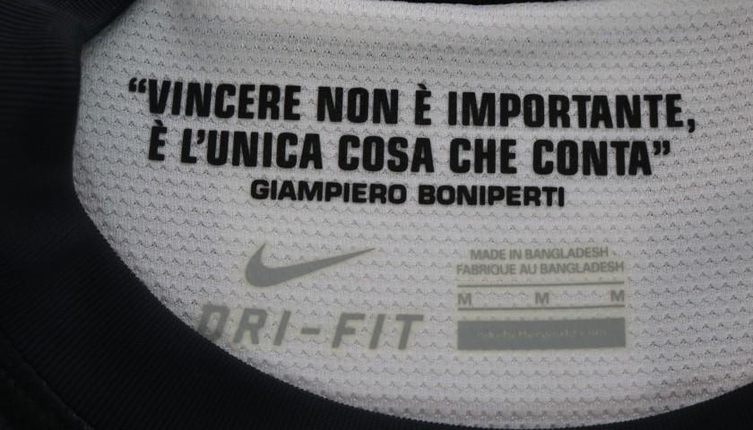 Giaccherini's Juventus Worn and Unwashed Shirt, 2012/13