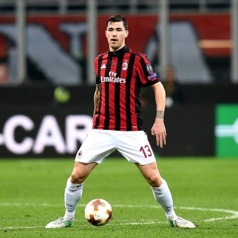 Romagnoli's AC Milan Kit, Europa League 2017/18