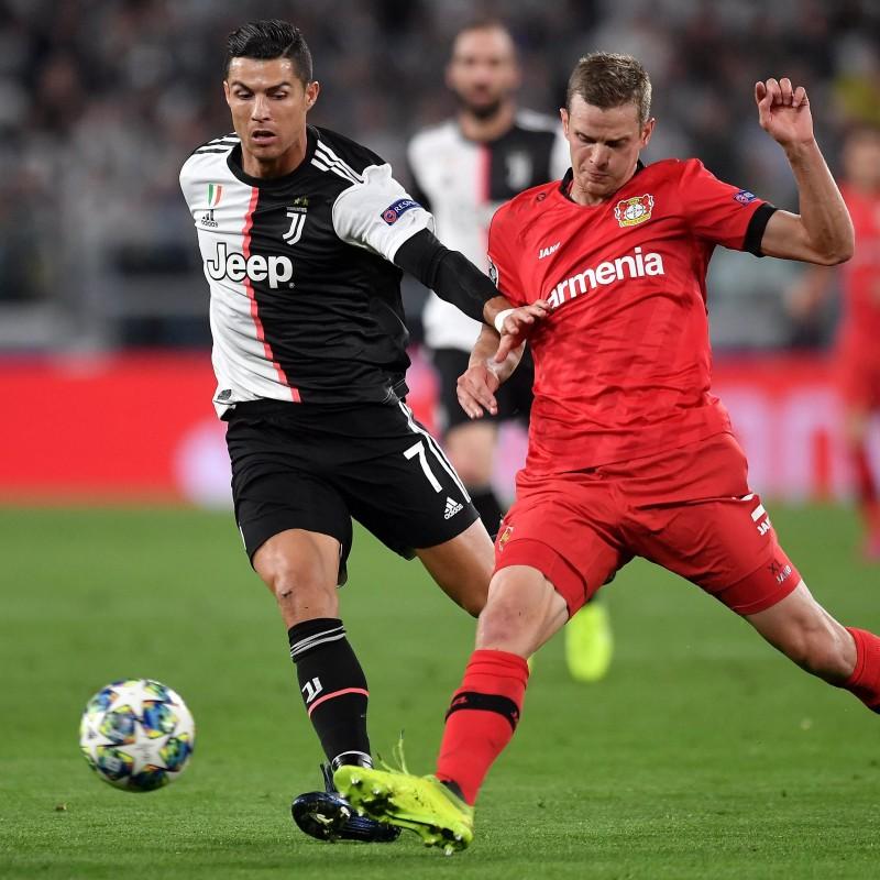 Ronaldo's Juventus Match-Issued Shirt, UCL 2019/20