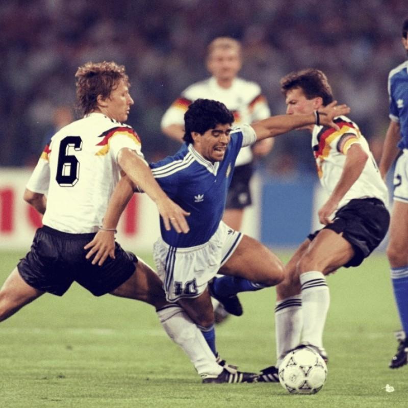 Italy '90's Official Football Signed by Maradona