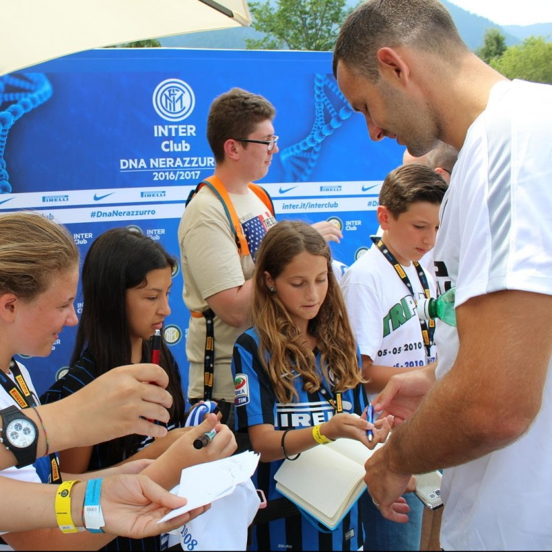 Watch Inter Practice and Meet Players - Brunico July 12