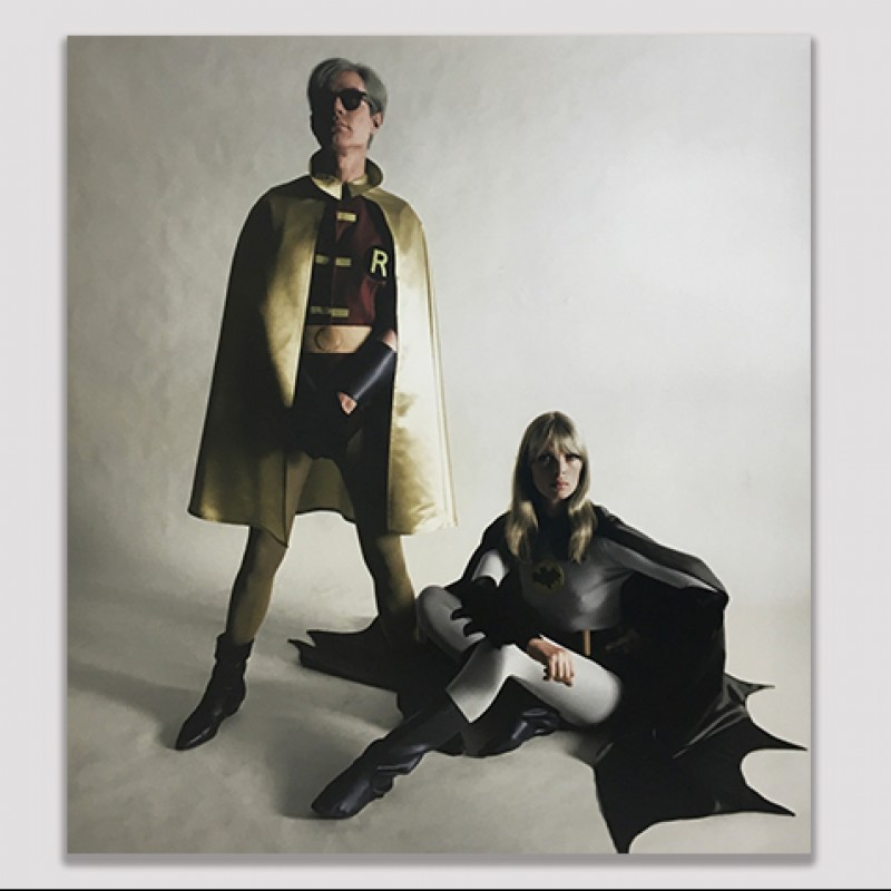Limited Edition Artist Proof of Andy Warhol and Nico