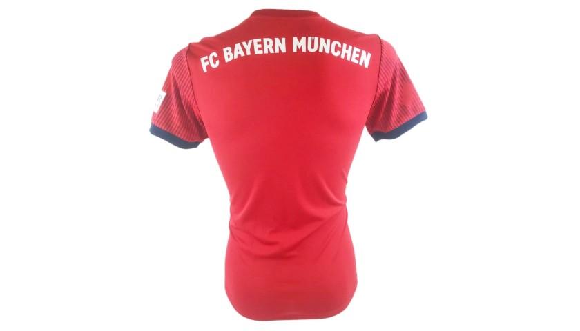 Official Bayern Munich Shirt 2018 19 Signed By Coman Charitystars