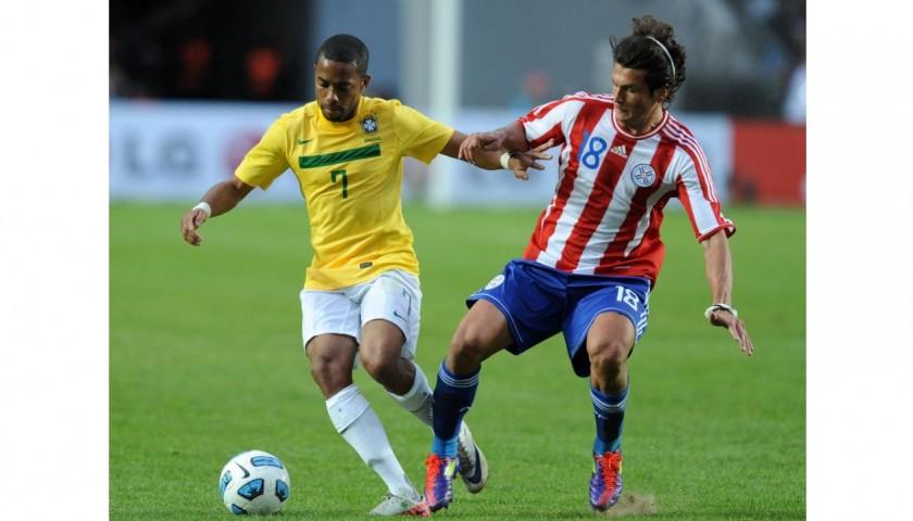 Robinho's Brazil Match Shirt, Copa America 2011