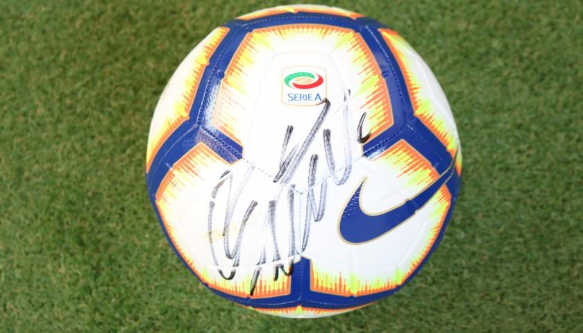 Pallone Ufficiale Serie A 2018/19 - Autografato da Ronaldo ...