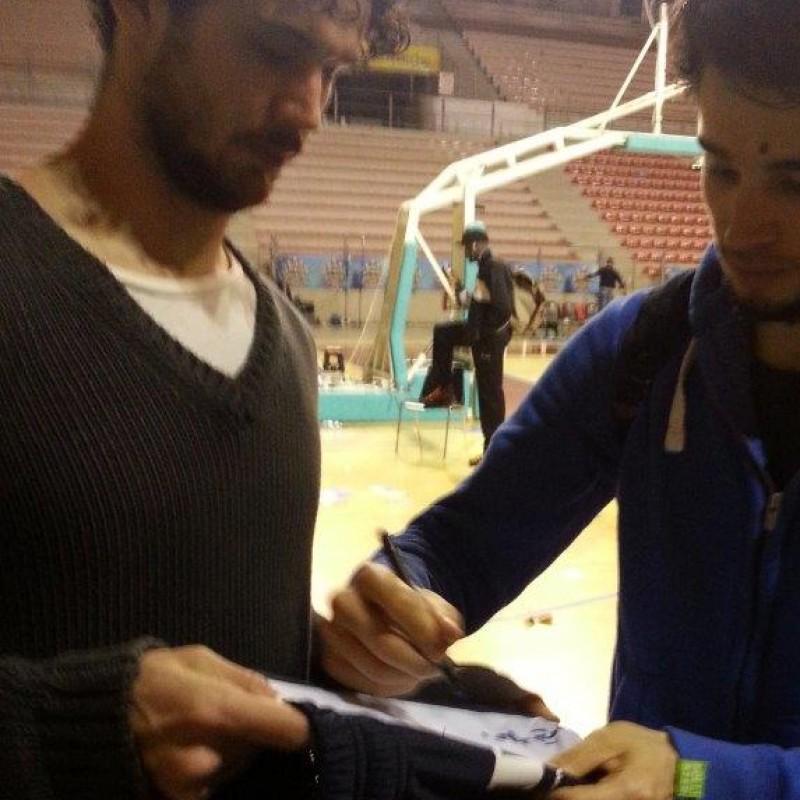 Michele Vitali worn signed shorts - All Star Game BEKO 2014