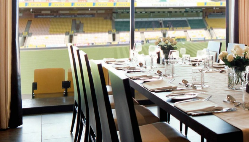 Exclusive VIP Matchday Experience with Norwich City FC