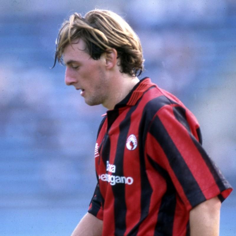 Signori's Foggia Signed Match Shirt, 1991/92