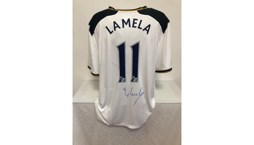 Lamela's Official Liverpool Shirt, 2016/17 - Signed