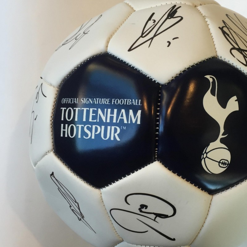 Tottenham Hotspurs Football Signed by the First Team 2012-13