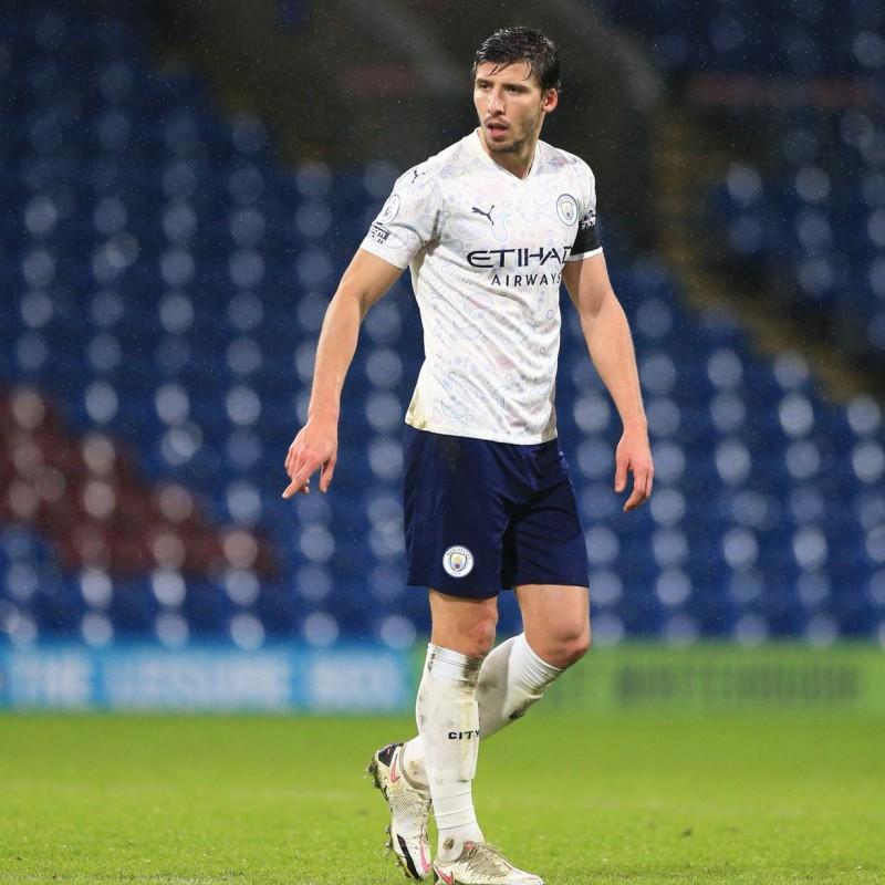 Dias' Man City Match-Issued Signed Shirt