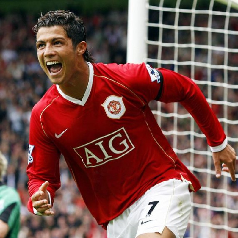 Ronaldo's Official Manchester United Signed Shirt, 2006/07