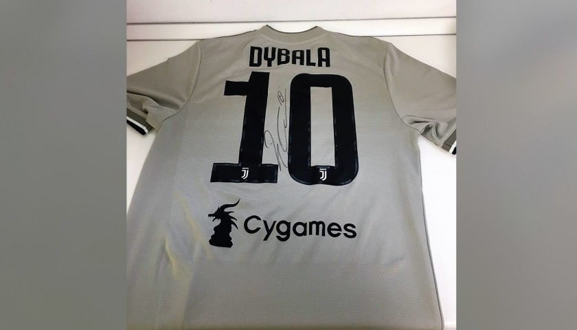 size 40 a5a38 f247b Dybala's Official Juventus Signed Shirt, 2018/19 - CharityStars