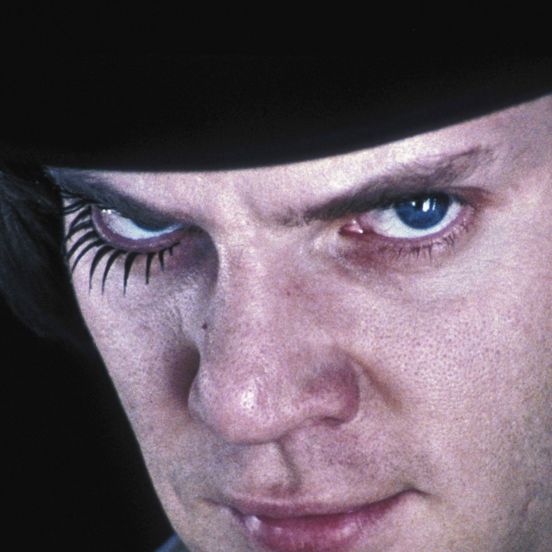 "Malcolm McDowell Hand Signed ""A Clockwork Orange"" Hat"