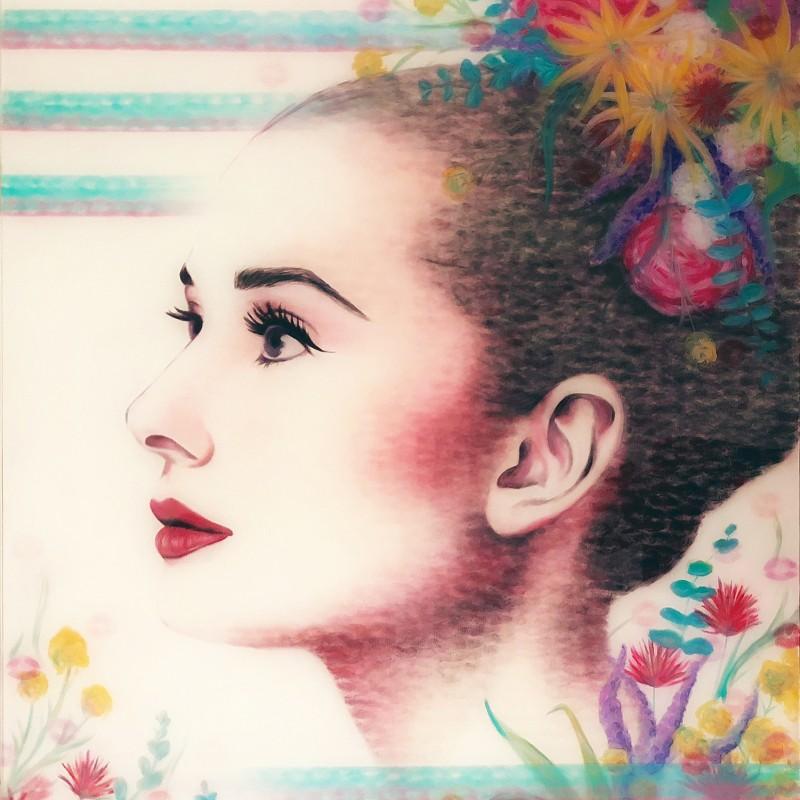 """""""Vivacious Legacy, Audrey Hepburn"""" by Lipstick Lex"""