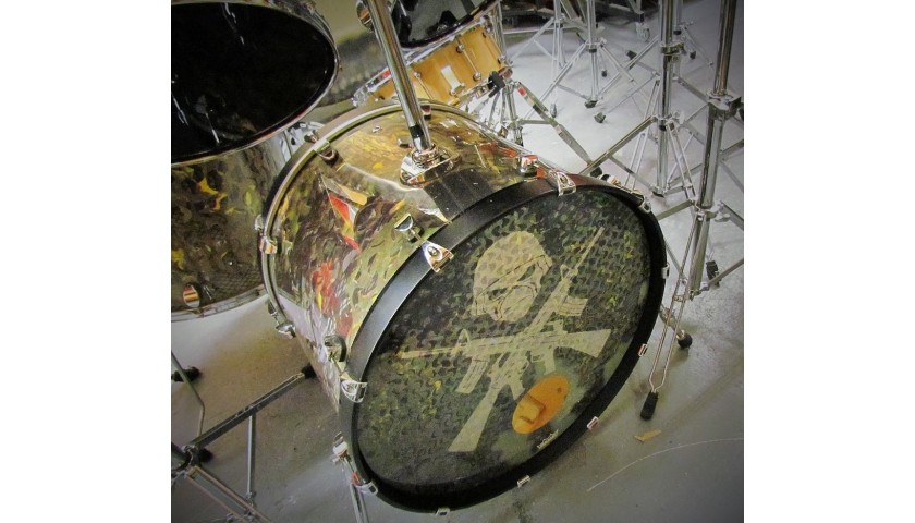 Nicko McBrain's Iron Maiden Full Drum Kit from 'A Matter of Life and Death' Tour, 2006-2007