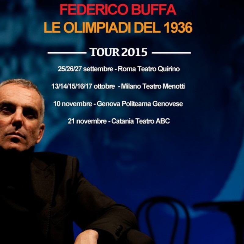 Meet Federico Buffa backstage at his play