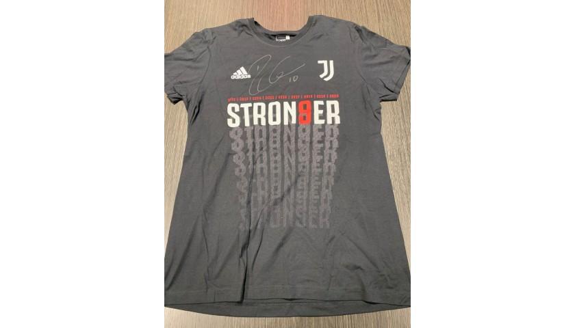 Juventus Celebratory T-Shirt, 2020 - Signed by Dybala