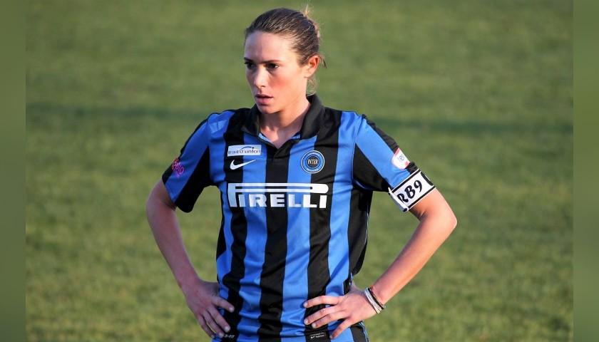 Regina Baresi's Official Inter Women's Signed Shirt