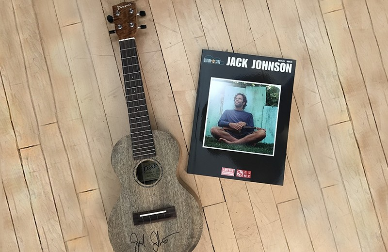 Signed Ukulele and Songbook
