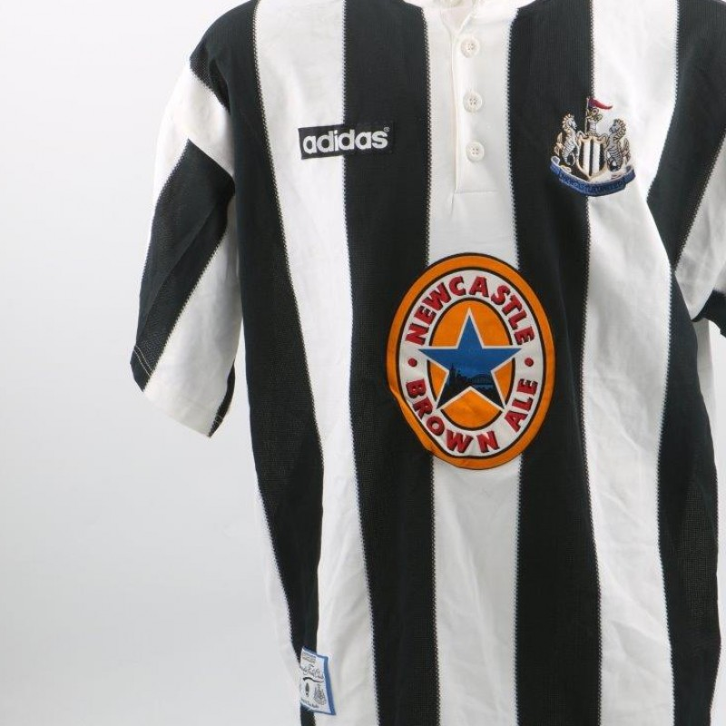 Les Ferdinand Newcastle Shirt, issued/worn P.League 95/96