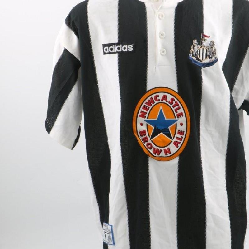 Les Ferdinand Newcastle Shirt, issued/worn P.League 95/96