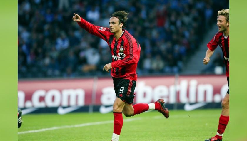 Maglia Ufficiale Berbatov Bayer Leverkusen, 2004/05 - Autografata dai giocatori - CharityStars