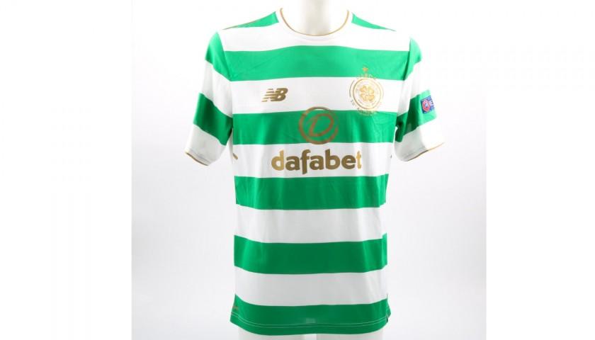 low cost 1a3f0 57ec8 Tom Rogic Match Worn/Issued Celtic Football Shirt - CharityStars