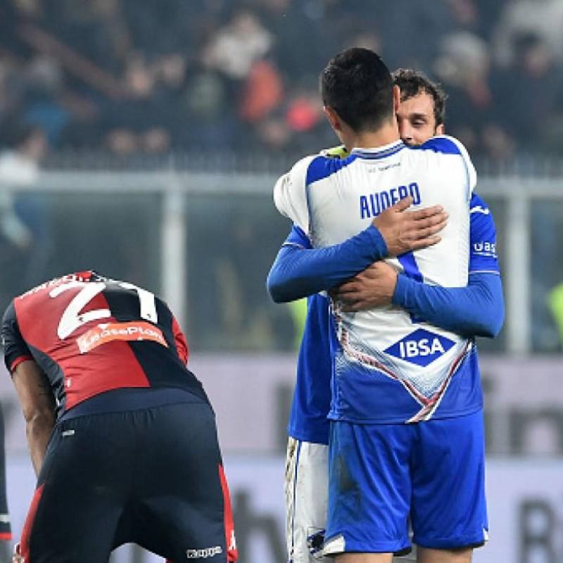 Maroni's Worn Shirt, Genoa-Sampdoria, Special Gaslini